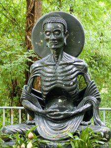 skinny buddha