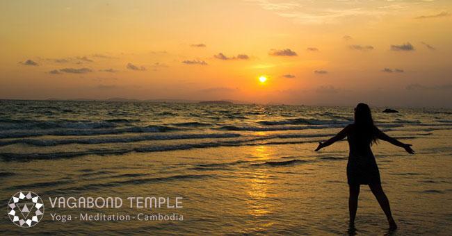 Meditation in Cambodia