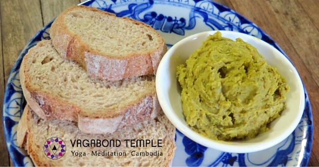 A Recipe for Green Mung Bean Hummus